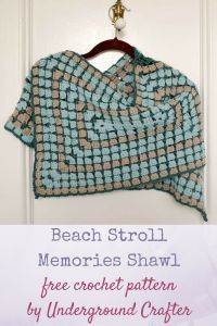 Beach Stroll Memories Shawl