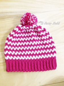 Easy V-stitch Hat