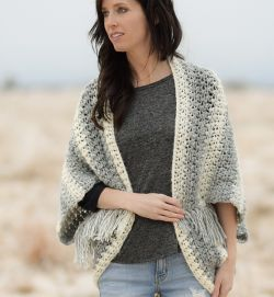 Light Frost Blanket Sweater
