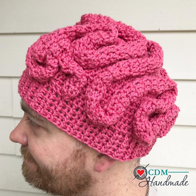 Crochet Patterns Galore Brain Beanie