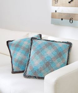 Planned Pooling Argyle Pillow