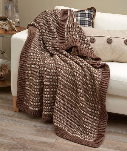 Crochet Patterns Galore Lakehouse Throw