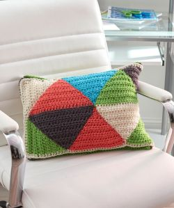 Triangle Puzzle Pillow