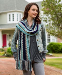 Stylish Stripes Scarf