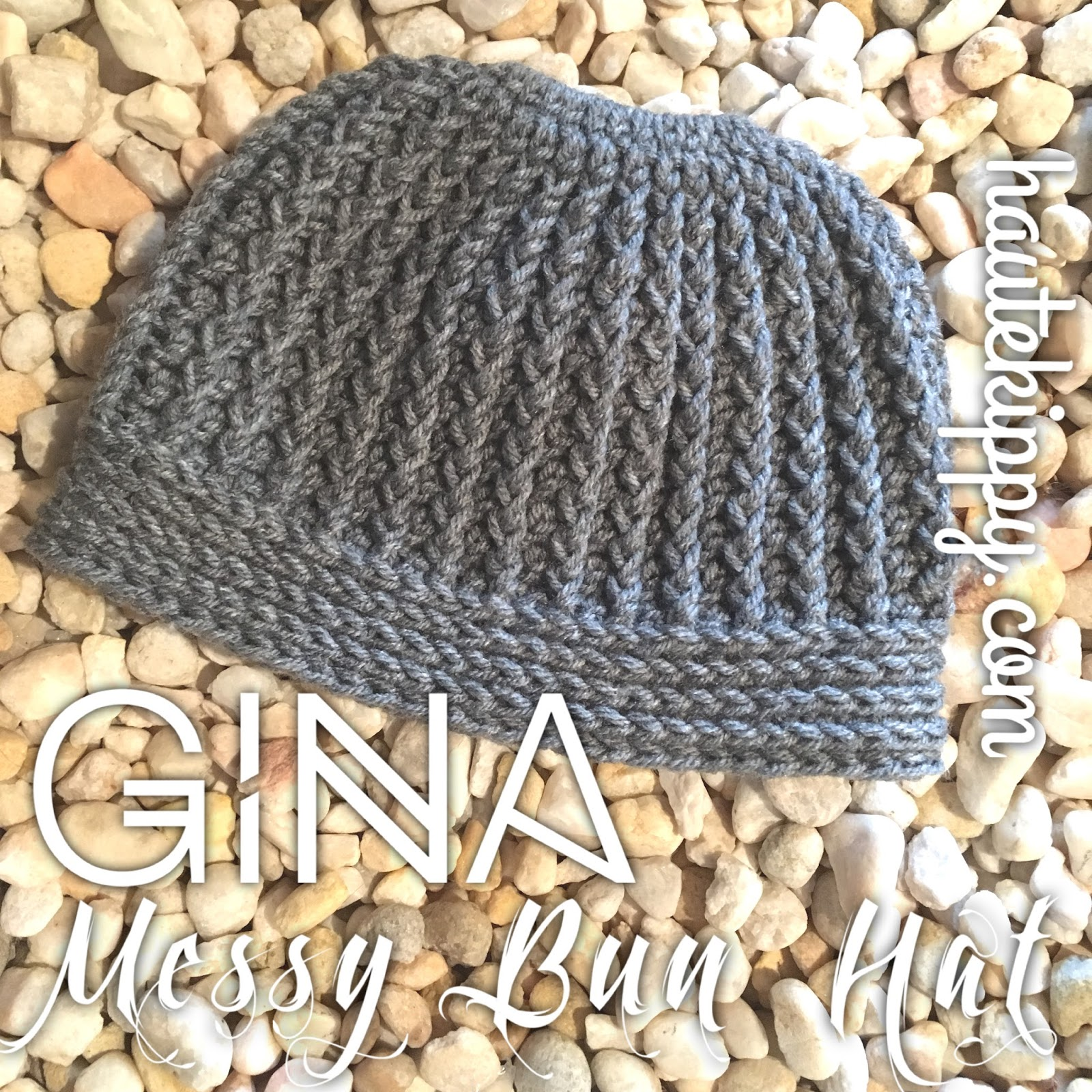 Crochet Patterns Galore Gina Messy Bun Hat