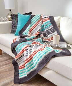 Inspired Stripe Throw