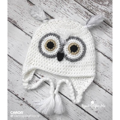 Crochet Pattern For Pikachu Doll : Crochet Patterns Galore - Snowy Owl Crochet Hat