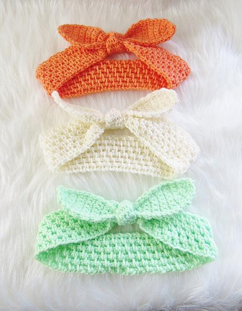 Crochet Patterns Galore Knot Me Up Headband