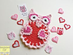 """Owl Love You"" Dishcloth"