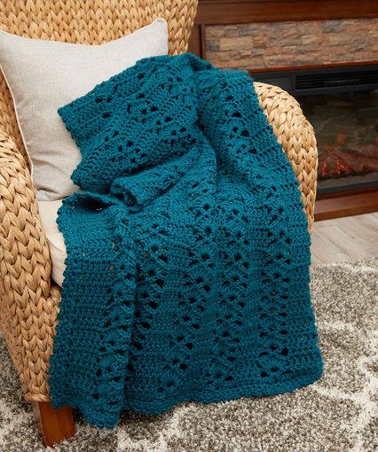 Crochet Patterns Galore Charming Throw