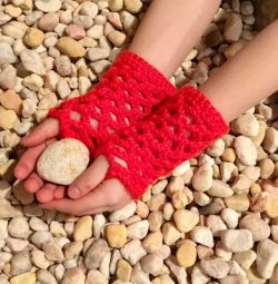 Easy Fishnet Gloves