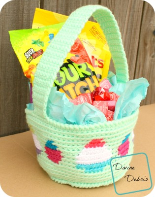 Crochet Patterns Galore Tapestry Easter Basket