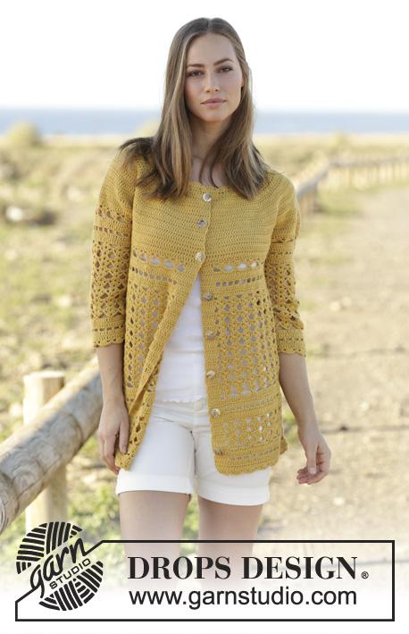 Crochet Patterns Galore Sahara Cardigan
