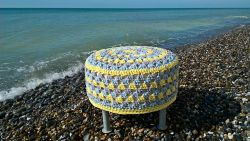 Granny Stool Cover