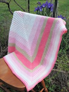 Straight to the Heart Baby Blanket