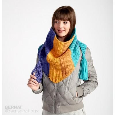Crochet Patterns Galore - Crochet Kerchief Scarf