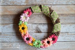 Gerbera Daisy Wreath