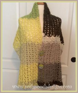Spring Into Summer Wrap Shawl