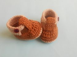 Baby Strap Booties