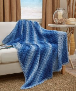 Corner-to-Corner Ombre Throw