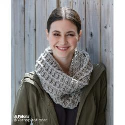 Wafflin' Around Crochet Cowl