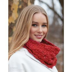 Cluster Stitch Crochet Cowl