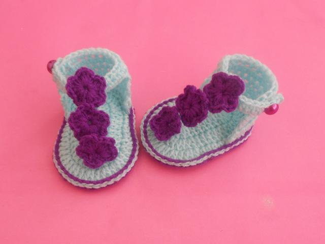 Crochet Patterns Galore Baby Sandals