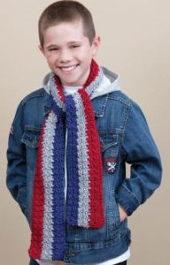 School Stripes Scarf