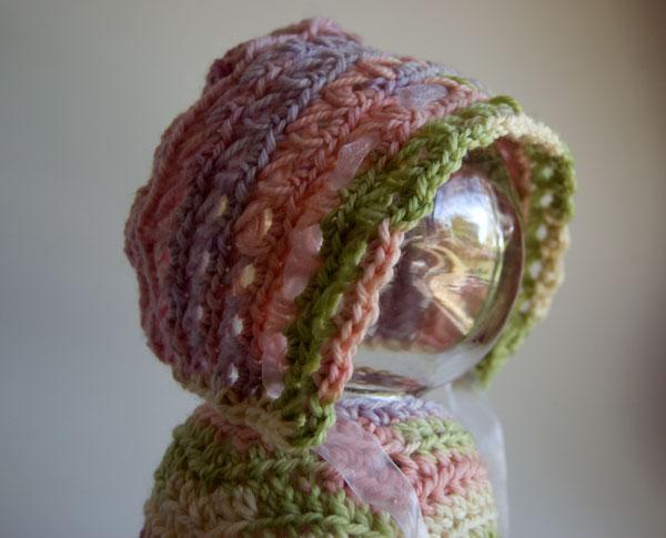 Crochet Patterns Galore Baby In Bloom Bonnet