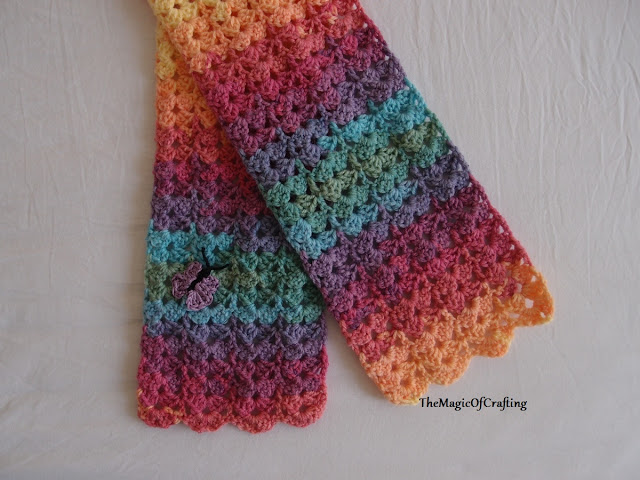 Crochet Patterns Galore Gorgeous Toddler Scarf