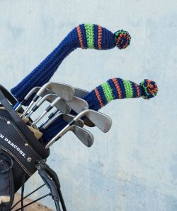Crochet Golf Headcovers