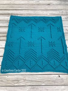 Shooting Arrows Bobble Blanket