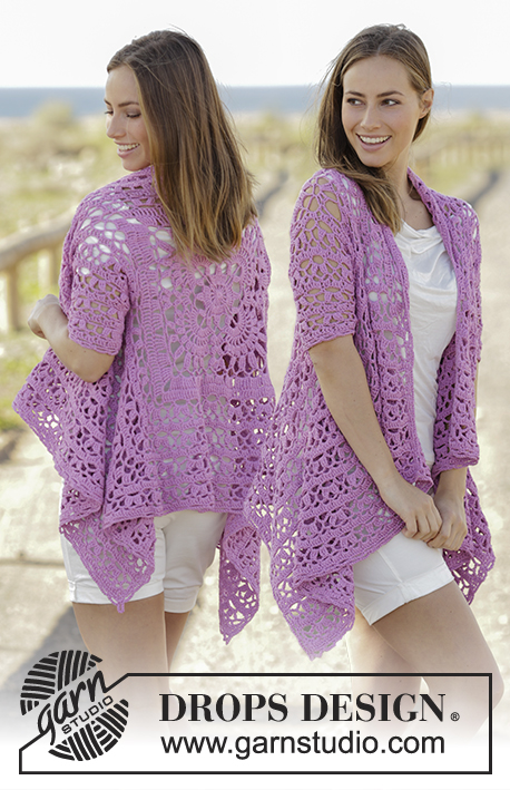 Crochet Patterns Galore Lilac Dream