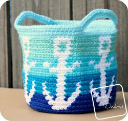 Anchors Away Basket