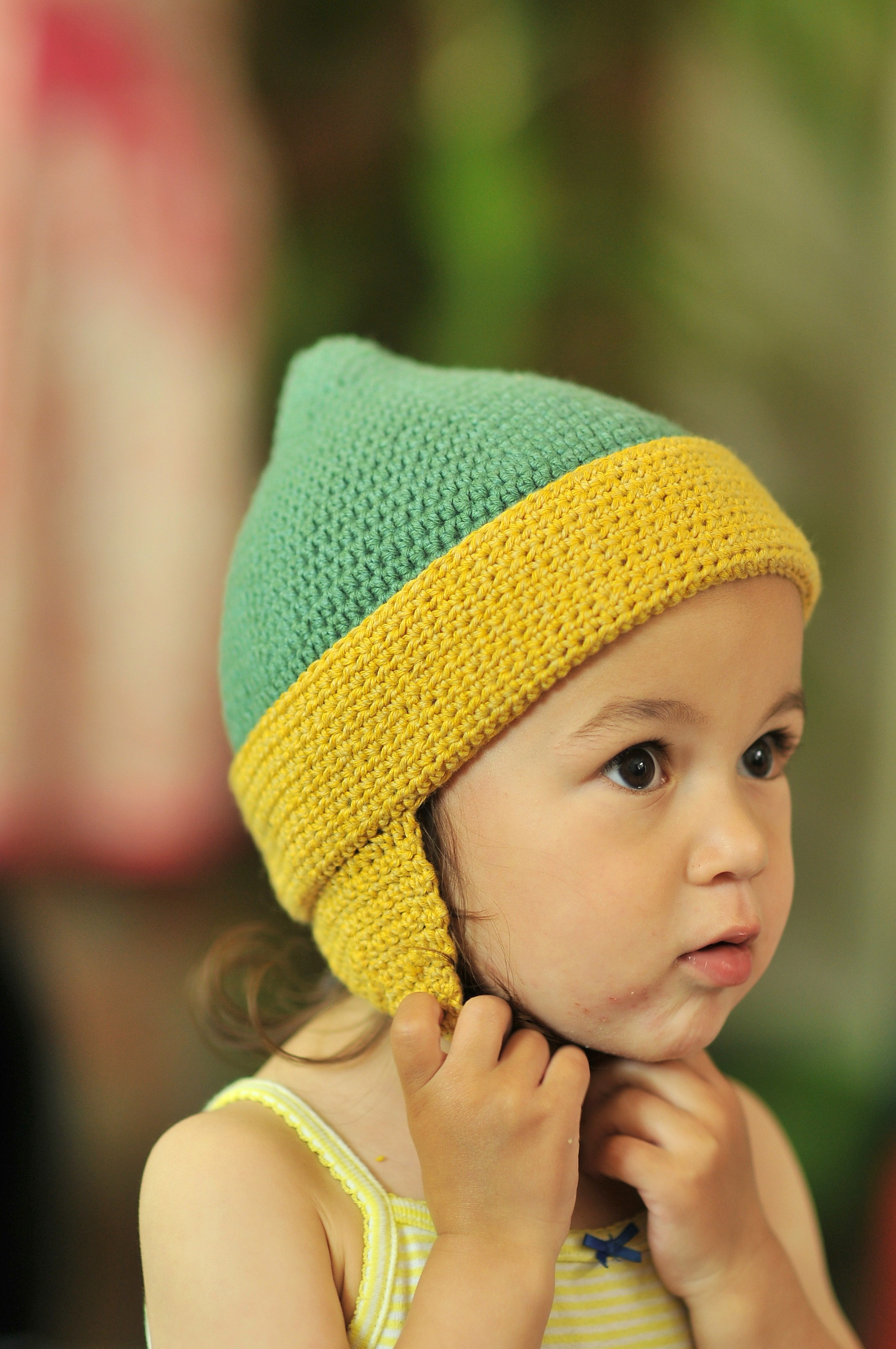 Free Crochet Pattern For Baby Beanie With Earflaps Parchmentnlead