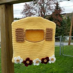 Garden Window Clothespin Bag