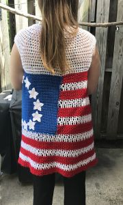 The Betsy American Flag Vest