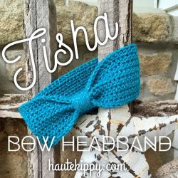 Tisha Bow Headband